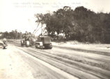 Road Construction Near Murrells Inlet, South Carolina